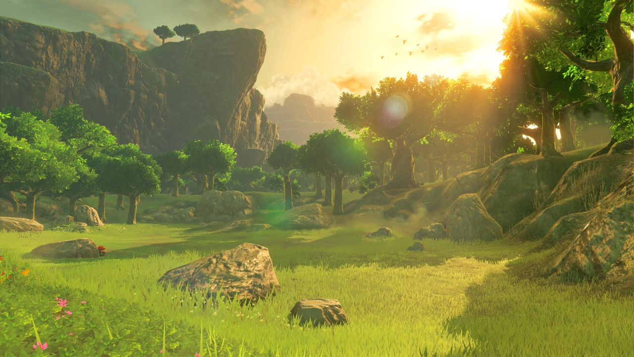 Legend Of Zelda Breath Of The Wild Hd Landscape Wallpaper With