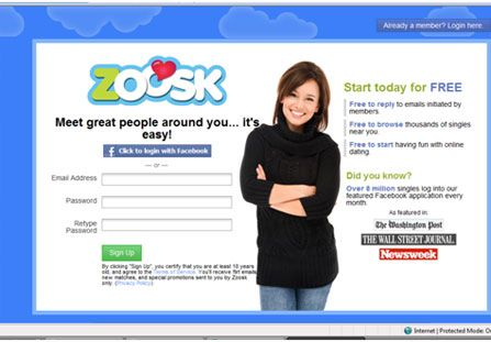 promo code for zoosk dating site
