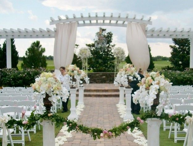 Pergola Wedding Decoration Ideas Wedding Ideas Wedding