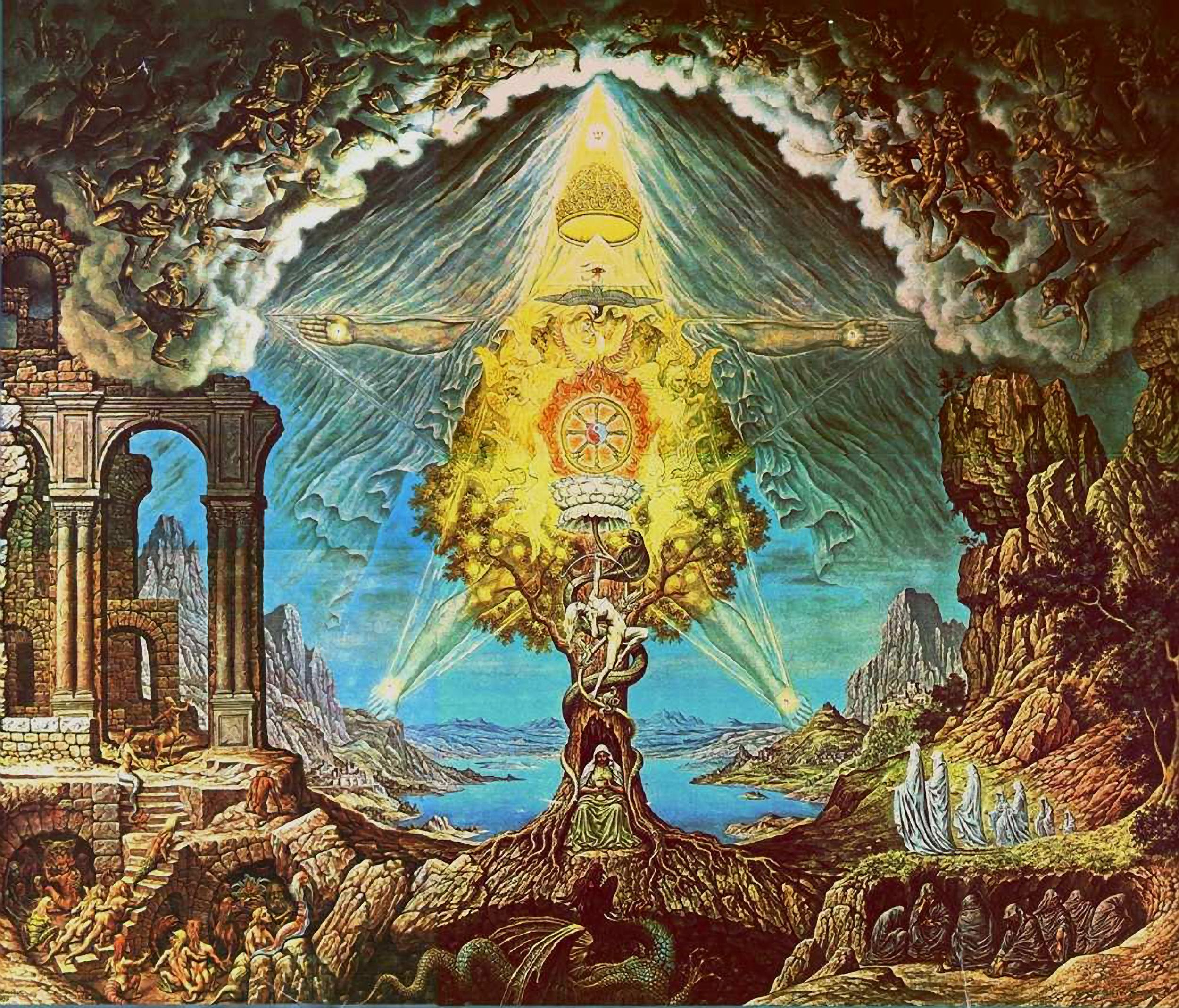 Arte Mediathek Elven Johfra Bosschart Esotericism In 2019 Occult Art Art Alchemy