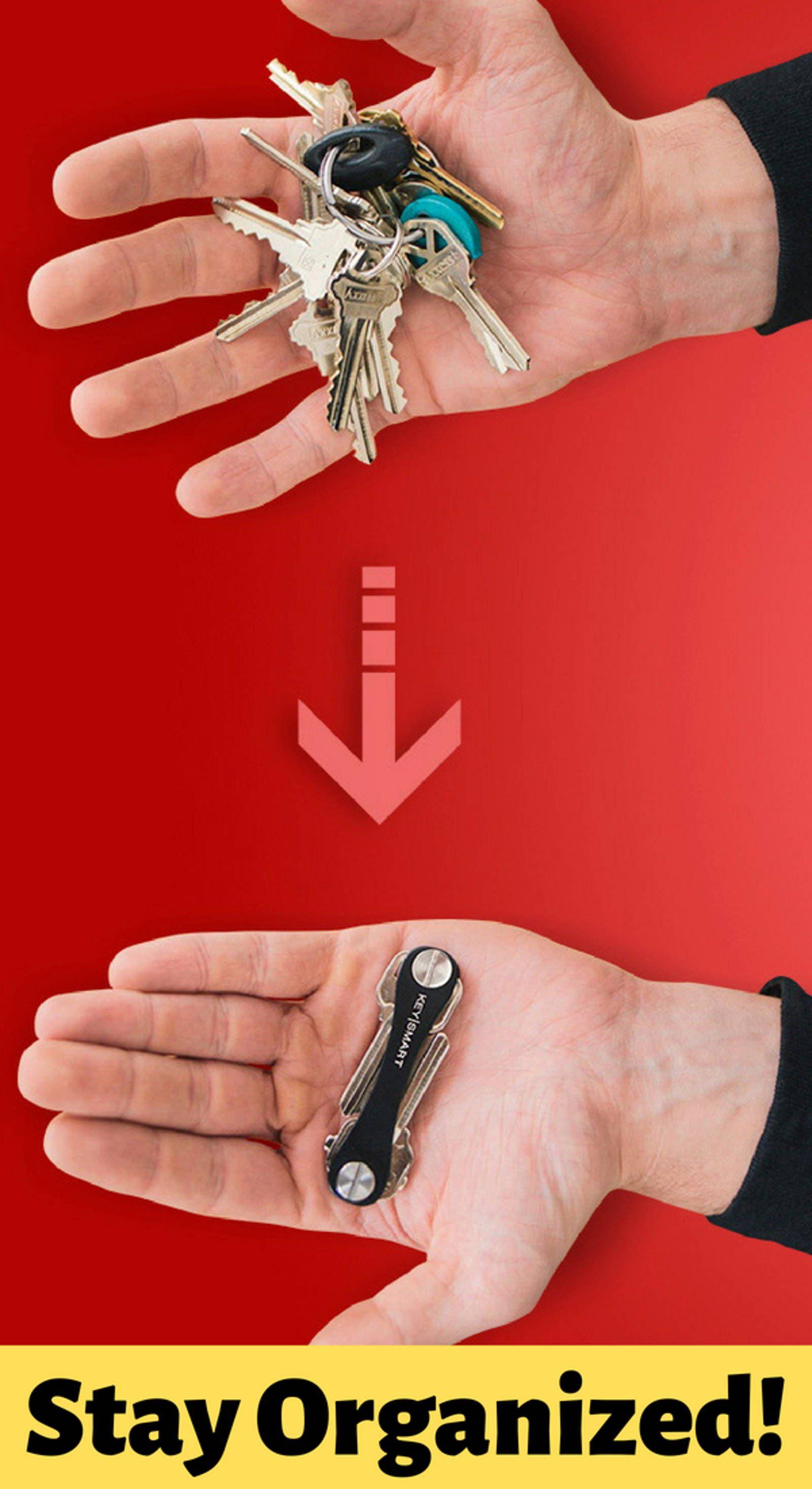 Keysmart The Original Key Chain Organizer Very