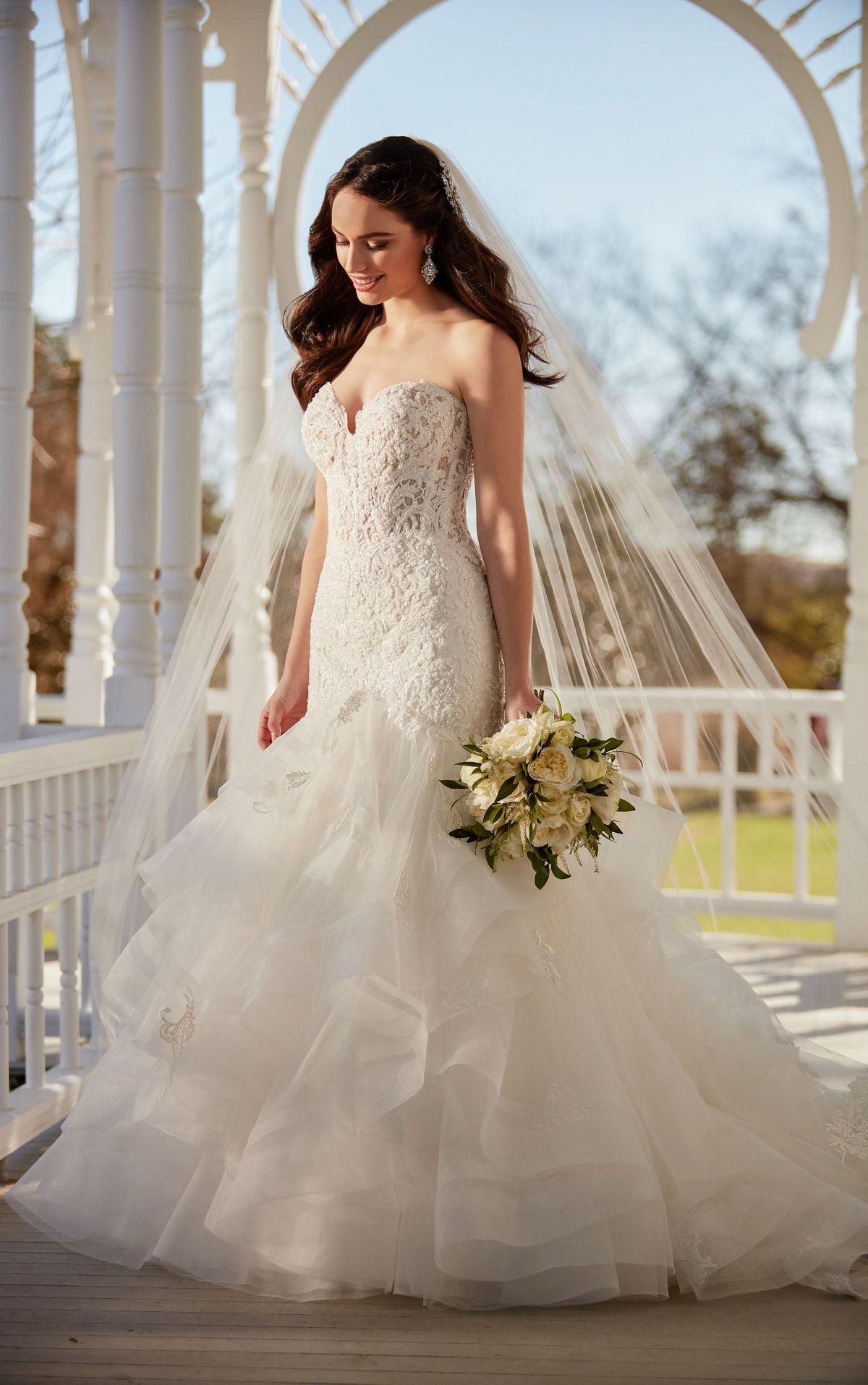 Wedding Dresses Fairytale Beaded Princess Wedding Gown Martina Liana Martina Liana Wedding Dress Wedding Dresses Mermaid Dresses [ 1914 x 1200 Pixel ]