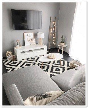 Photo of 45 + gemütliche kleine Wohnzimmer Dekorationsideen für Ihre Wohnung 00064,  #Dekorationsideen…