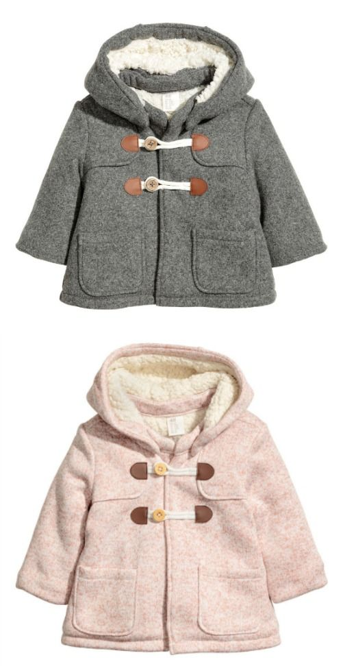 232d345f9223 Cutest little peacoat from H M for little girls