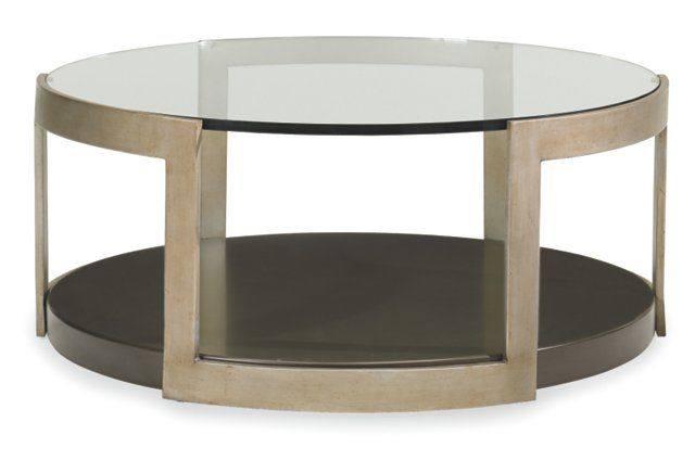 Agata Coffee Table Forest Pewter