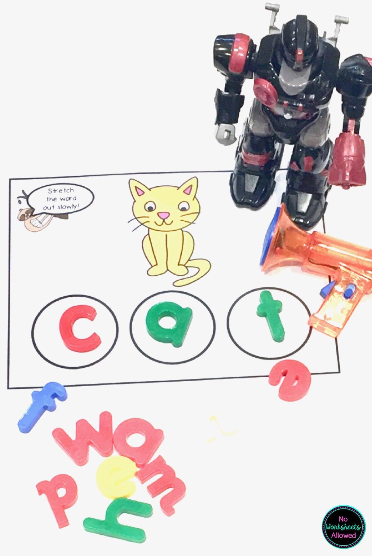Cvc Word Spelling Activities In