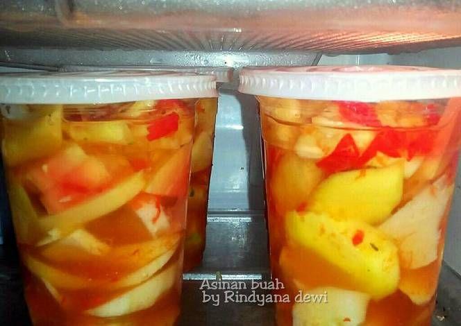 Resep Asinan Buah Oleh Rindyana Dewi Mom Al Resep Resep Makanan Dan Minuman Makanan