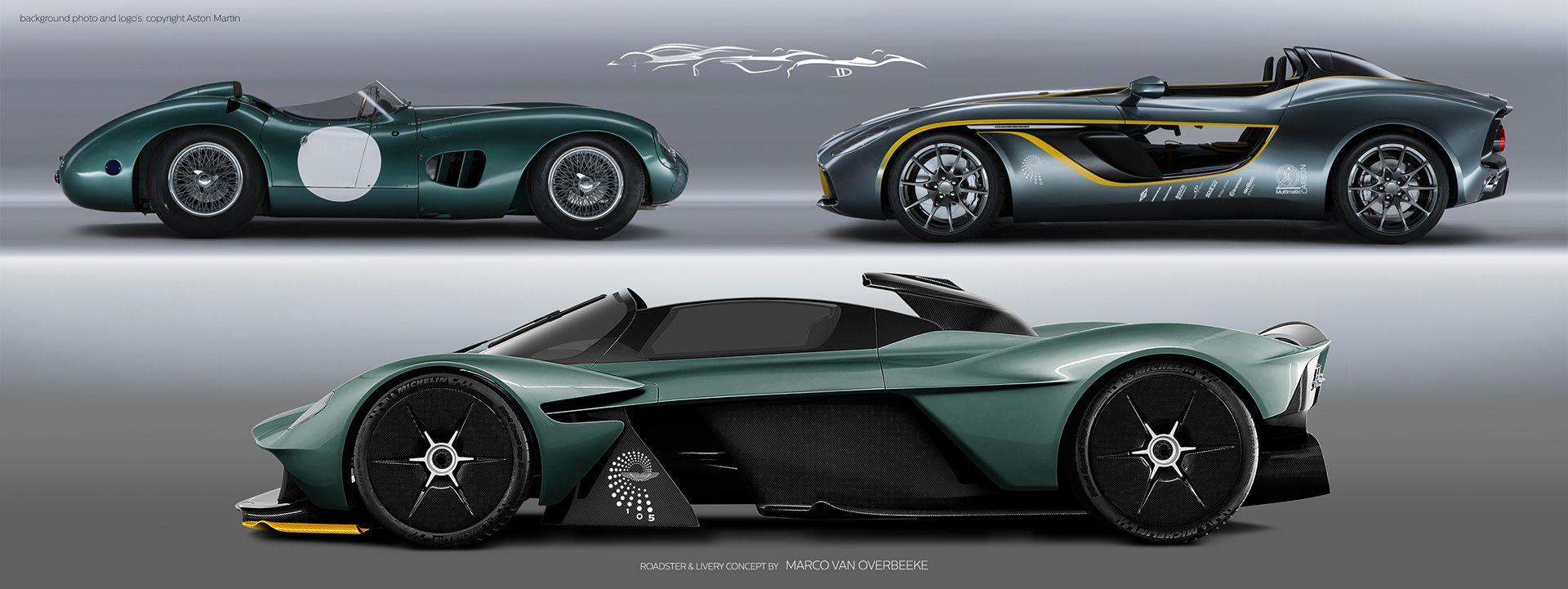 Aston Martin Valkyrie Volante Concept Aston Martin Aston Valkyrie