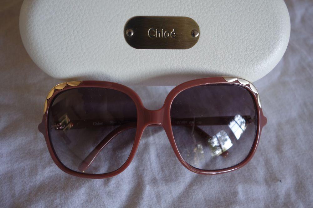 AUTHENTIC CHLOE CL2221 ERINE SCALLOPED TRIM SUNGLASSES (EVERYDAY GLAM) ~  #CHLOE #Designer