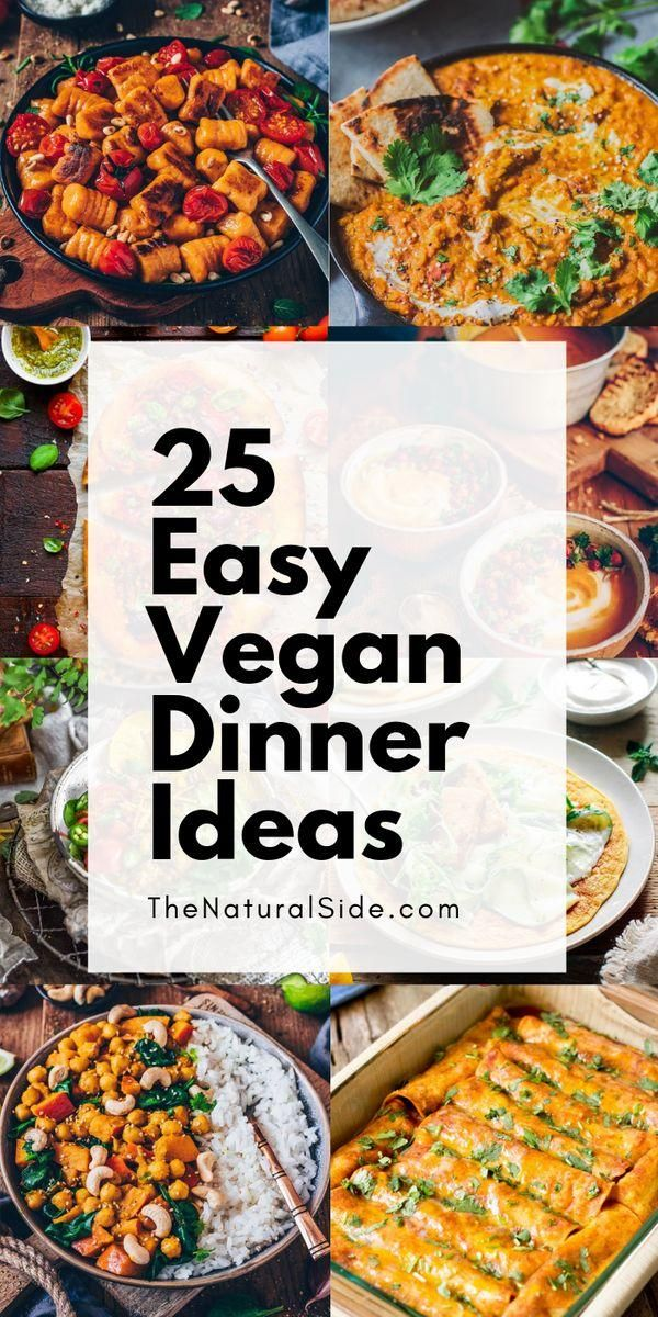 25 Super Healthy Vegan Dinner Recipes for Weeknights images