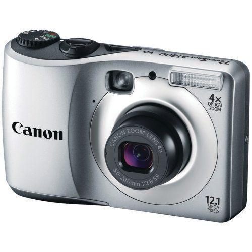 Canon Powershot A1200 12 1 Mp Digital Camera With 4x Optical Zoom Silver Http Www Amazon Com Canon Canon Digital Camera Digital Camera New Digital Camera