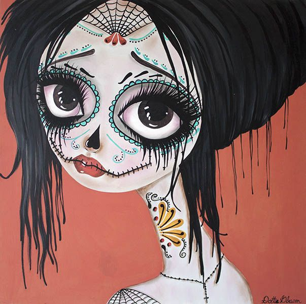 Day of the Dead No. 10 - Canvas Giclee