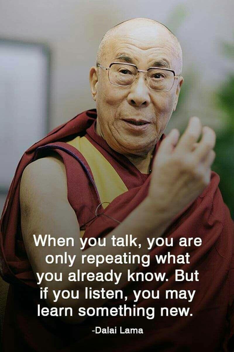 Dalai Lama Quote Never Really Lived