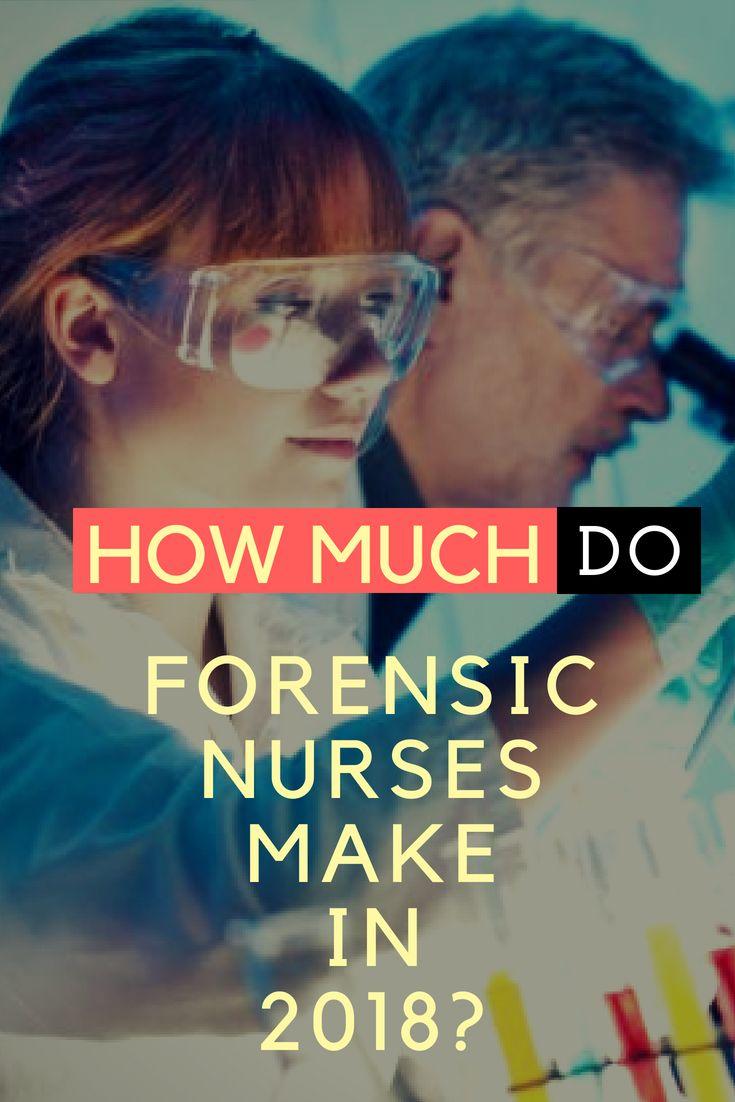 Forensic nurse salary career outlook education