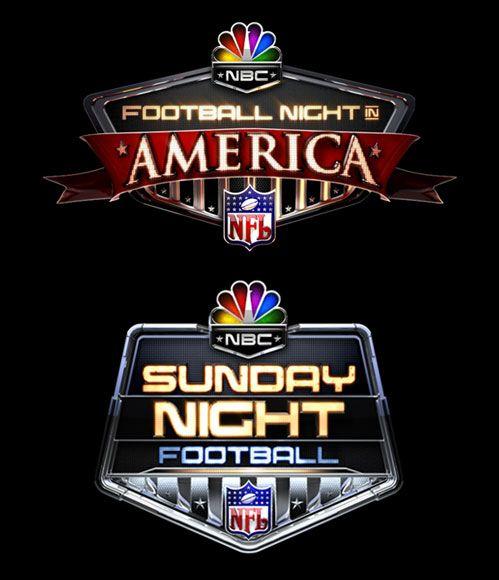 NBC Football Night in America Logos Apple tv, Sports