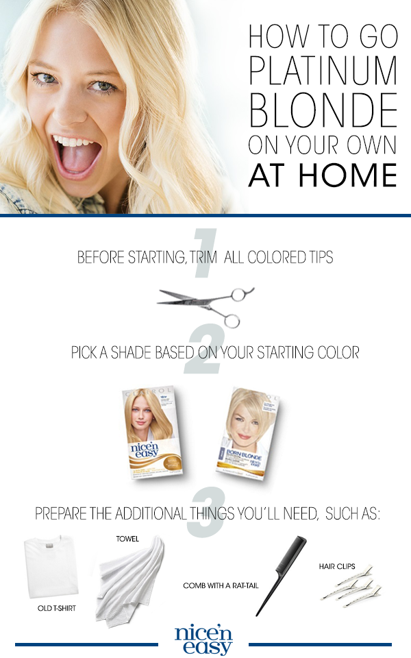 Looking To Make The Platinum Blonde Leap Clairol Color Director