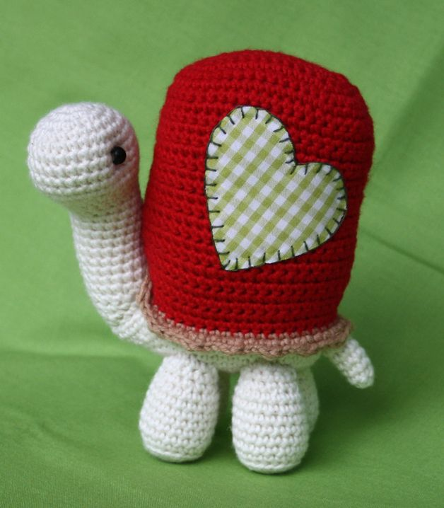PDF/ Häkelanleitung - Schildkröte (Amigurumi)   needlework - crochet ...