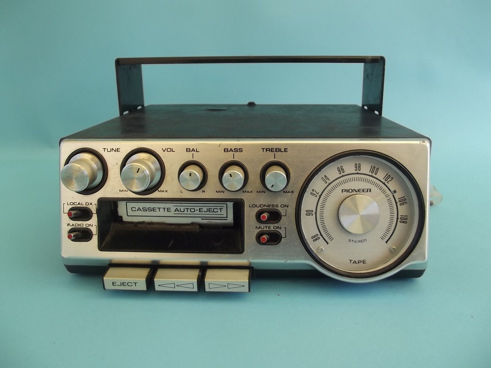 Pioneer KP-500 AM FM Stereo Cassette Player Super Tuner W/ Aux ...