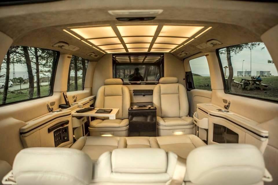 Haşhaş VIP Design 2015 Mercedes Vito Tourer 119 BlueTEC ...