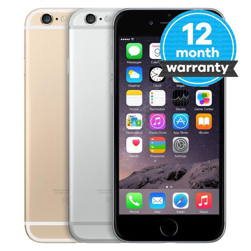 Apple iPhone 6 16GB 64GB 128GB Smartphone Unlocked AT&T