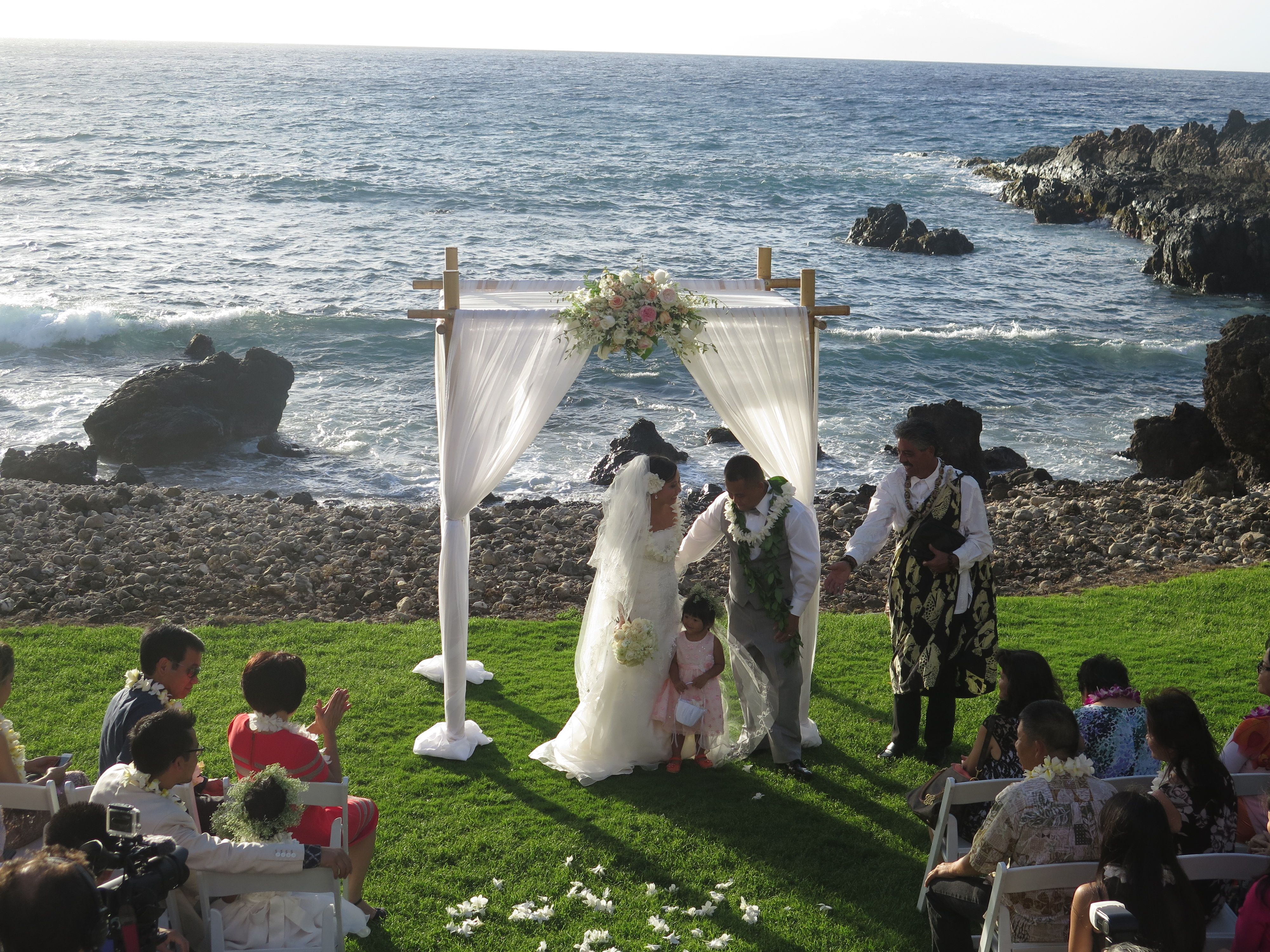 Cathy And Dannys Kukahiko Estate Wedding Video Yourwebcast 102614b
