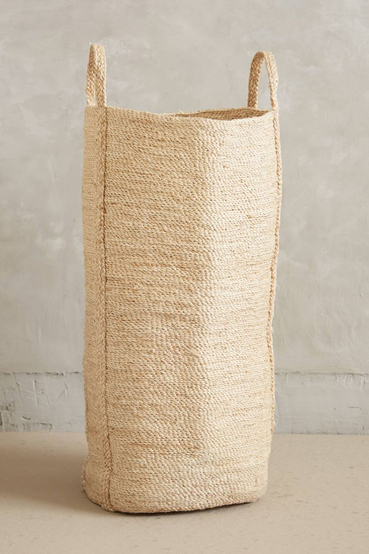 Lost & Found Woven Basket for laundry
