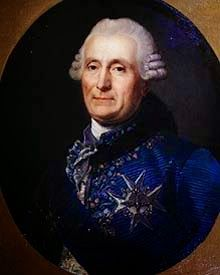 Portrait de Charles-Gravier, comte de Vergennes, artiste inconnu du XVIIIe siècle