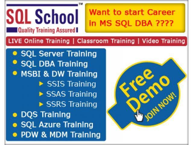Best Sql Admin Course From Sql School Hyderabad Delhincrclassifieds Com Online Training Classroom Training Sql