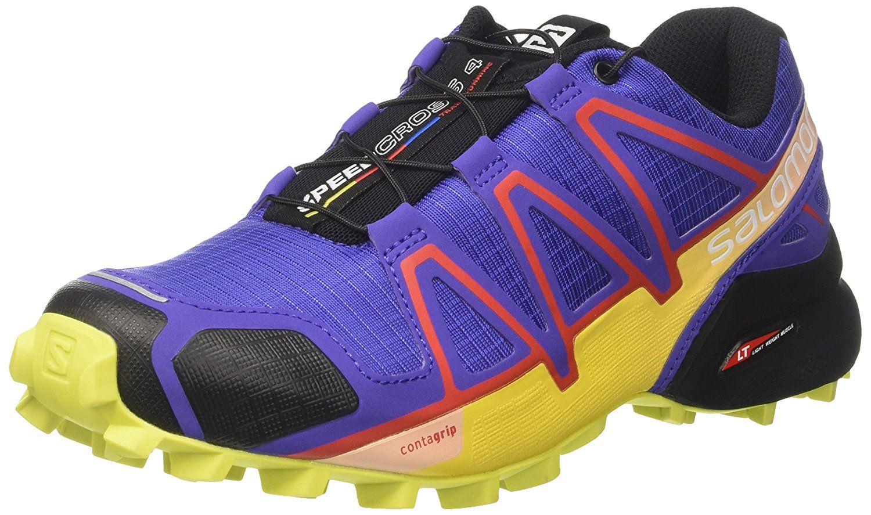 Salomon Damen Speedcross 4 Traillaufschuhe Running Schuhe