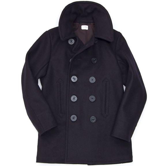 The Real McCoy's Jacket - U.S. Navy Pea Coat | THE REAL MCCOY'S ...