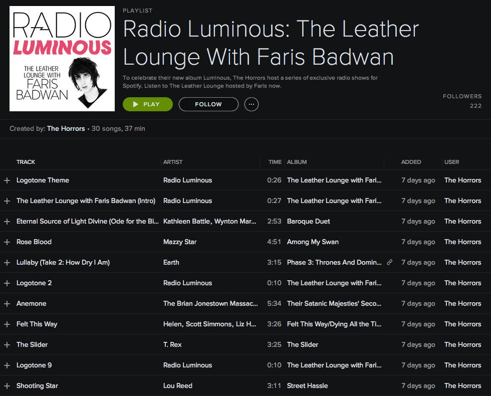 Spotify Playlist Spotify playlist, Songs, Leather lounge
