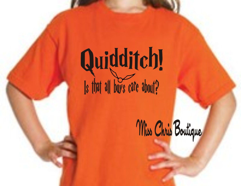 Harry Potter T-Shirt, Quidditch Shirt, Harry Potter Inspired Shirt ...