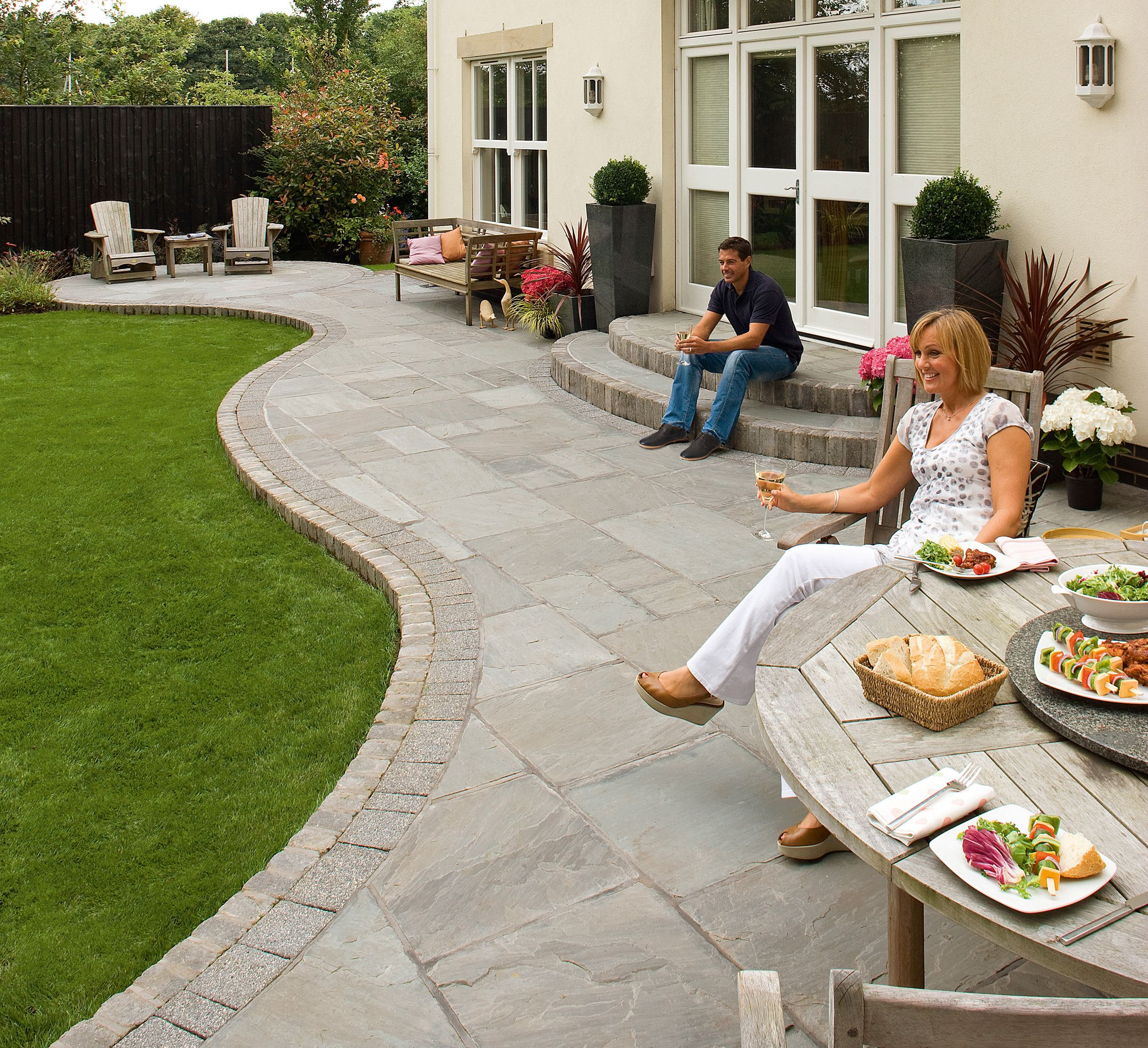 Attractive Endearing Unilock Pavers For Outdoor And Landscape Design: Tumbled Pavers | Paving  Stones | Unilock