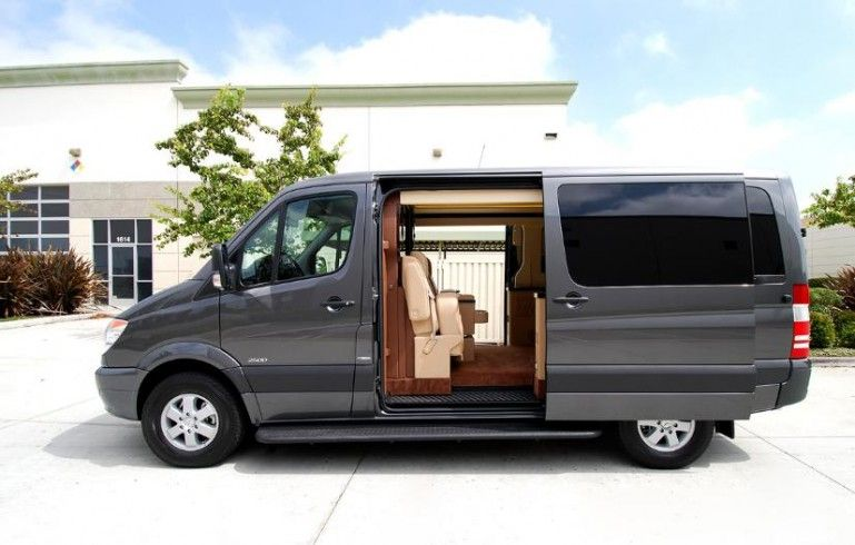 Mercedes Benz Sprinter Van Outfitted Like A Private Jet For New