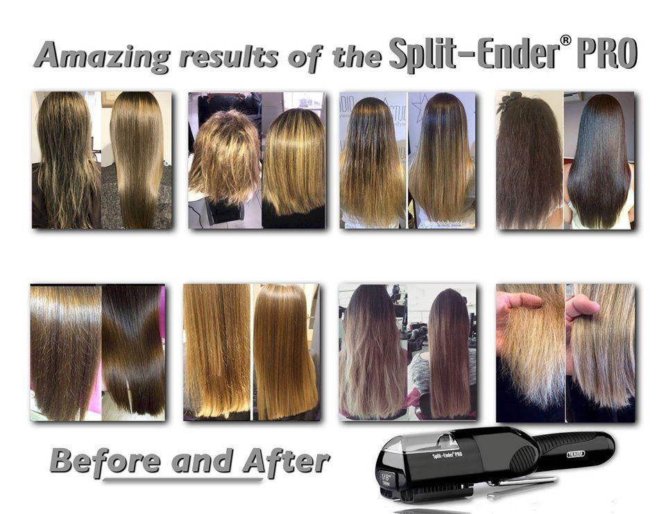 Before After Results Split Ender Pro Split Ender Split Ends Hair