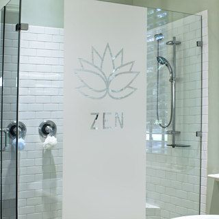 Sticker Douche Lotus Zen | Stickers de douche | Paroi de ...