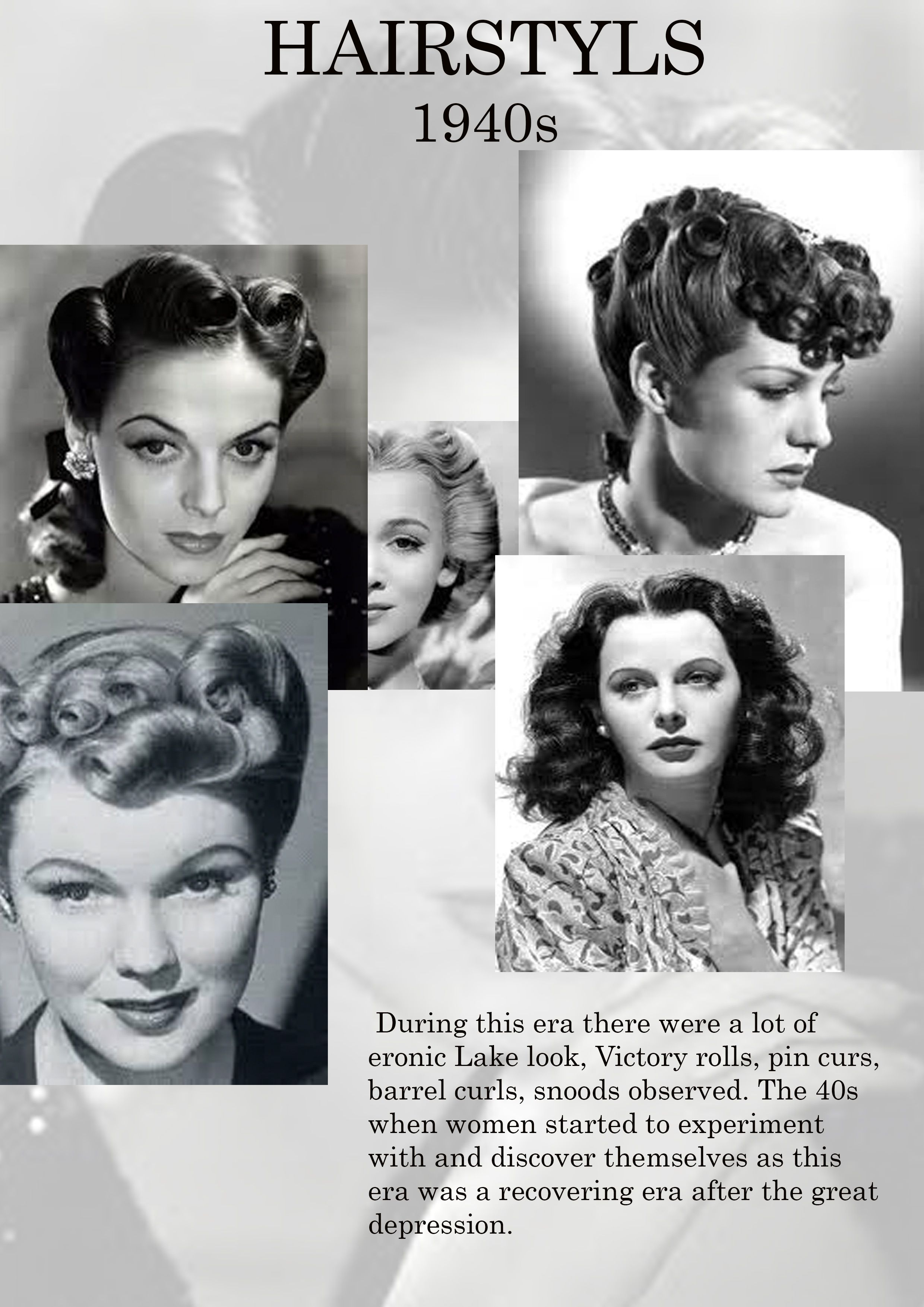 All About 1940s Hairdos 1940s Hairstyles Vintage Hairstyles Retro Hairstyles