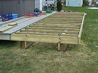 How To Extend An Existing Deck Expand An Old Deck Make A