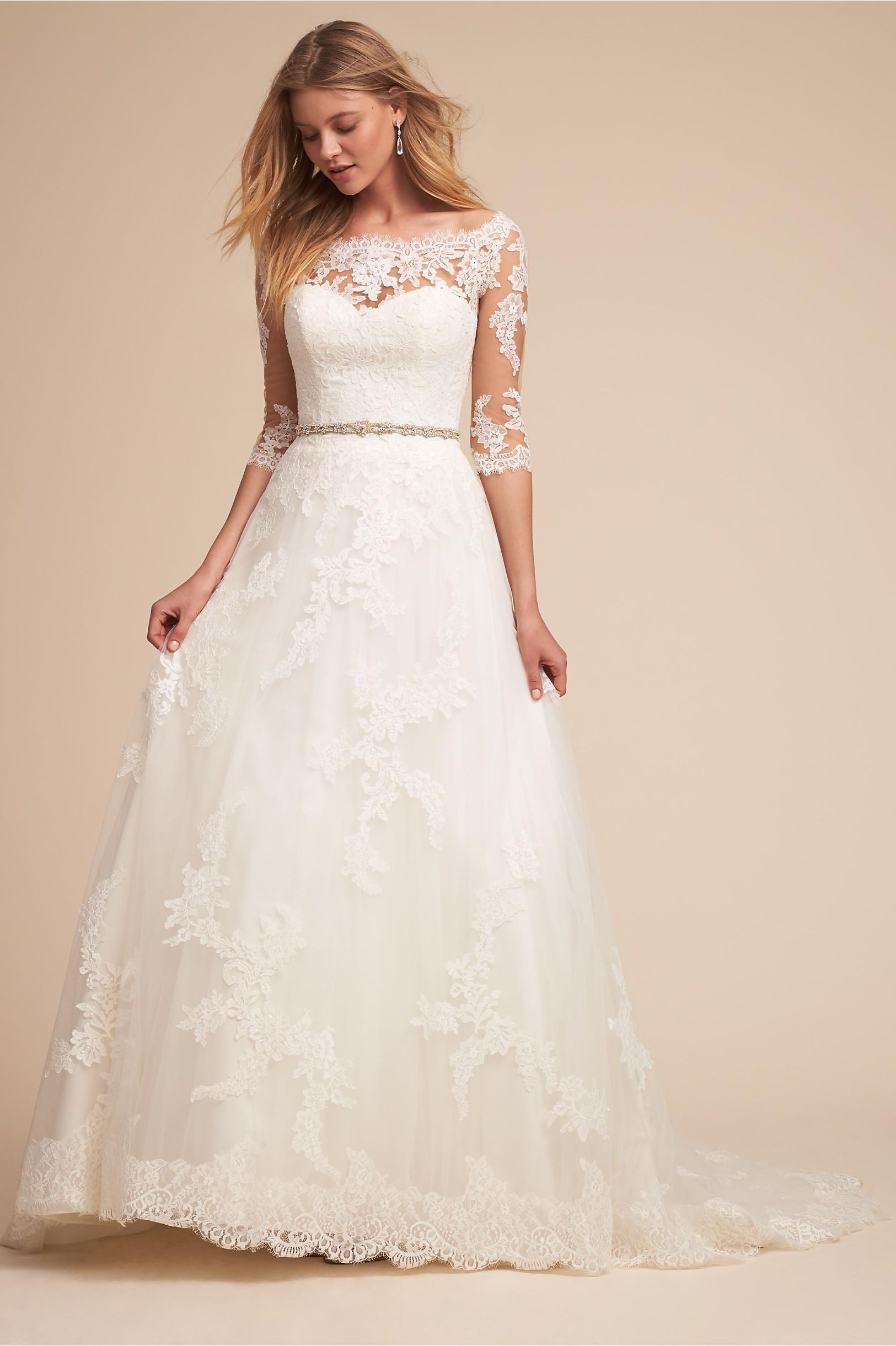 BHLDN\'s Pronovias Windsor Gown in Ivory | Windsor F.C., Ivory and Gowns