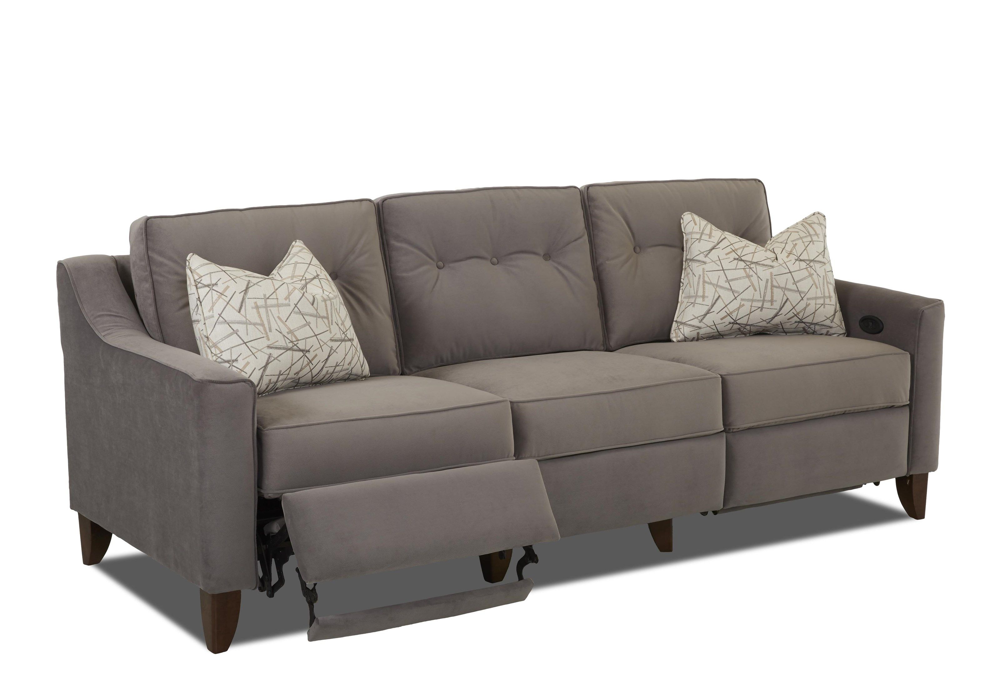 Contemporary recliner sofa modern reclining sofas foter for Modern sofa chair