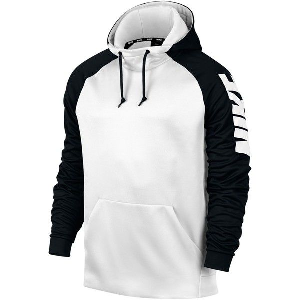 Nike Men\u0027s Therma Colorblocked Hoodie ($41) ❤ liked on