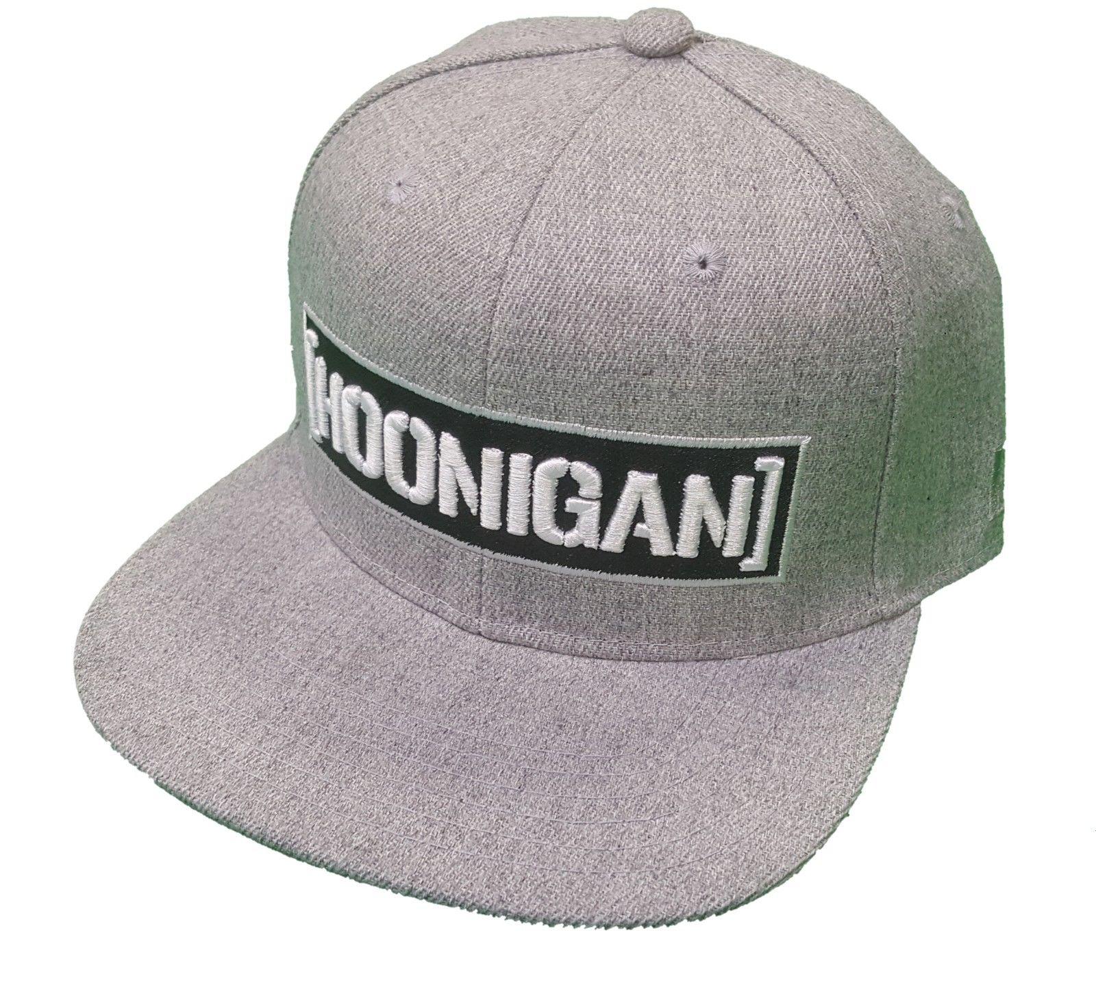 12f9e274b Brand With Tags Hoonigan Censor Bar Snapback Hat Grey Limited ...