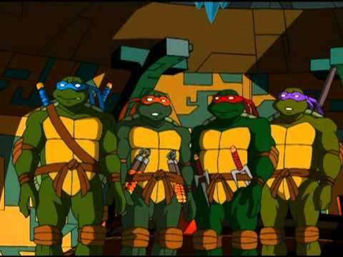 Tortues ninja tmnt saison 1 episode 01 le d m nagement for Repere des tortue ninja