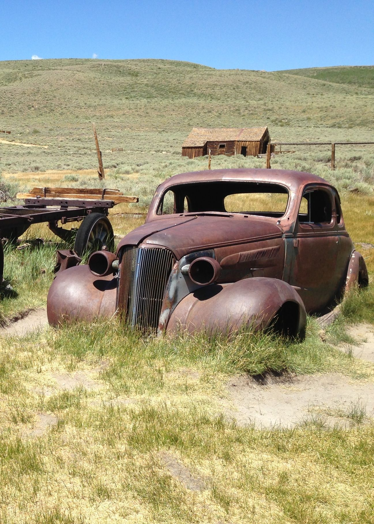Vintage Car Rusting In A Field With Images Barn Find Cars
