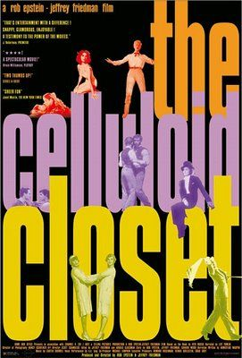 """The celluloid Closet"" American Movie Poster by Juan Gatti"