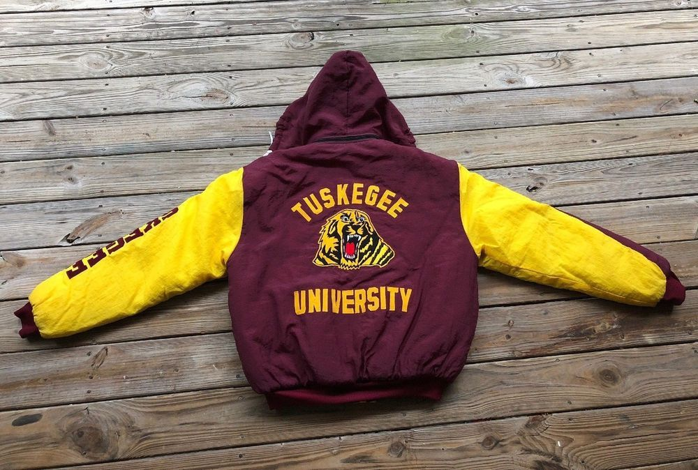 Vintage Tuskegee University Starter Jacket Mens Xxl 90s Rare Fashion Clothing Shoes Accessories Mensclothing Co Mens Jackets Tuskegee Tuskegee University