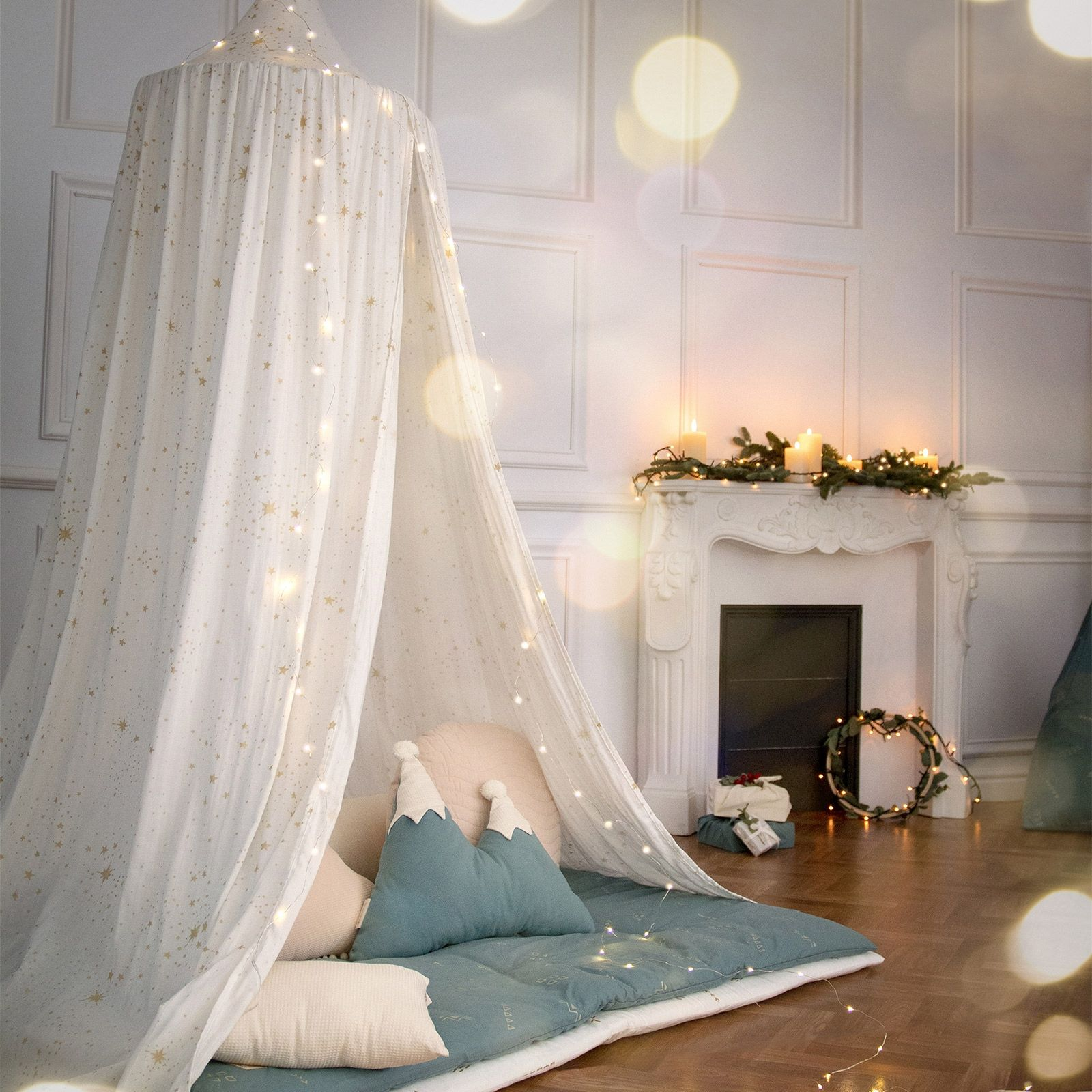 Ciel De Lit Blanc Amour Gold Stella Ciel De Lit Lit Blanc