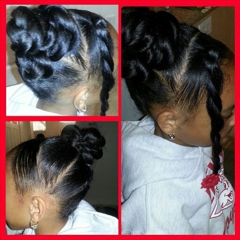Cute Hairstyle For Little Girl On Special Occasion Cute