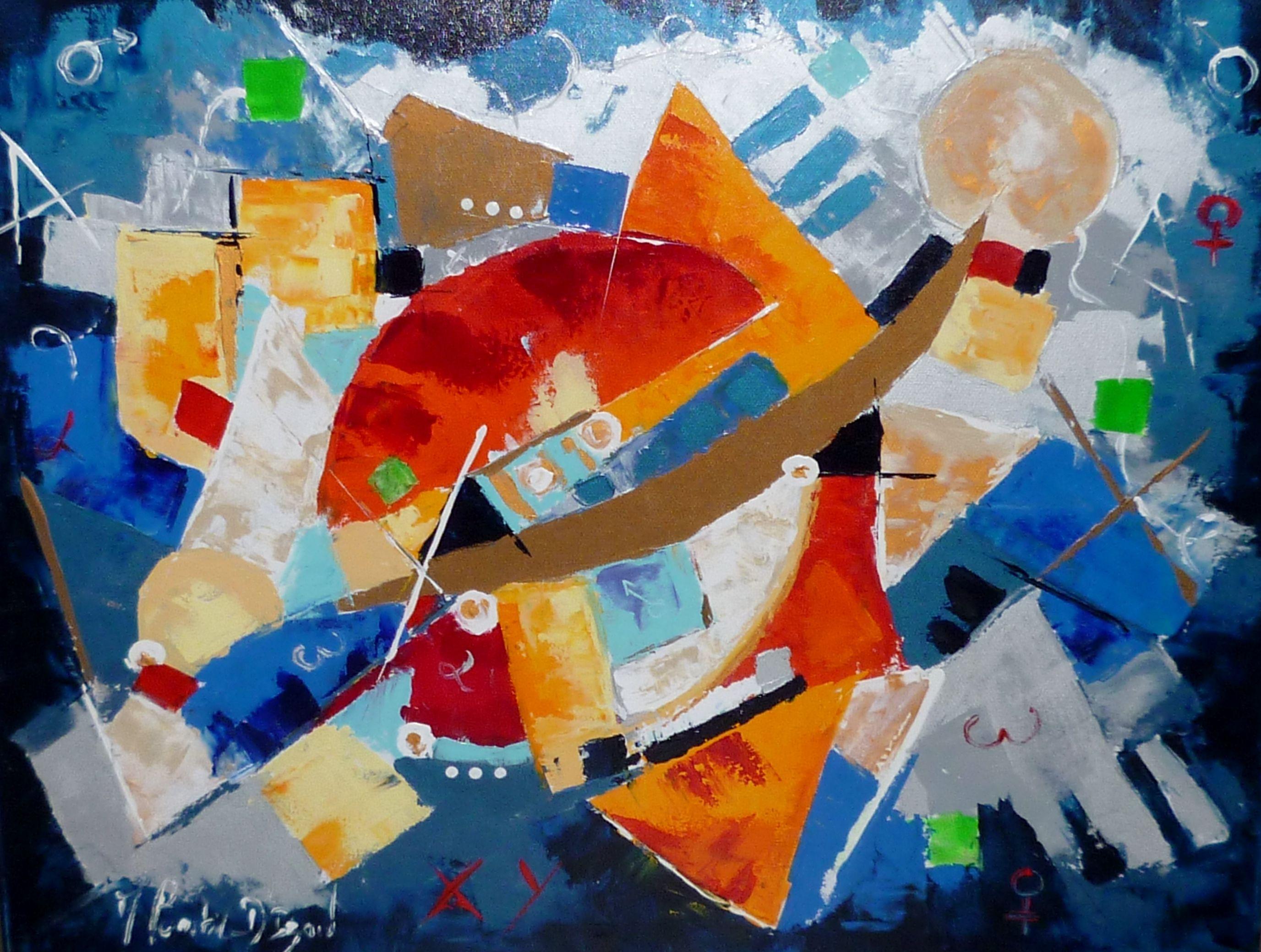 Armelle Bastide d'Izard : La maternité | Arte abstracto, Abstracto ...