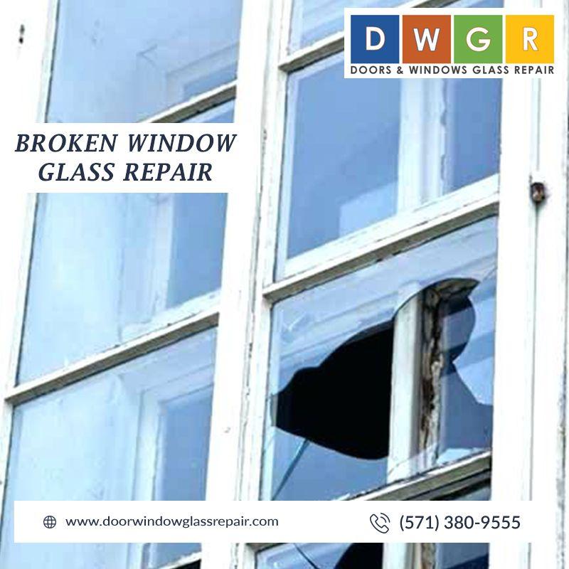 Broken Window Glass Repair #glassrepair